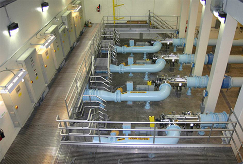 Municipal Water Treatment Plant